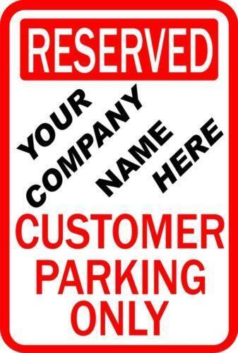 Private Parking Signs Free Customer Parking Sign Ebay