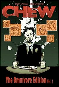 Chew Comic Hardcover Collector's editions Vol 1 to Vol 4