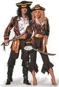 Karneval Kostüm Damen Piratin