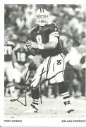Dallas Cowboys Autograph Photo