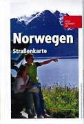 Straßenkarte Norwegen