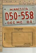 Minnesota Motorcycle License Plate