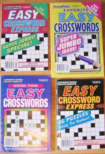 Easy Crossword Puzzles: Books  eBay