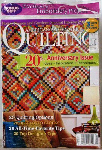 American Patchwork Quilting Magazine Ebay
