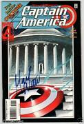 Captain America Signed