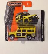 Matchbox Land Rover Defender