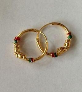 price pretty discounts hoop earrings gold and buy indian photo jewelry