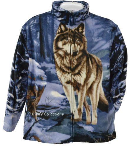 Animal Print Fleece Jackets Ebay