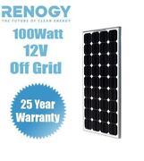 12 Volt 100 Watt Solar Panel