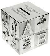 Personalised Silver Money Box