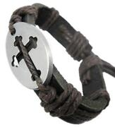 Cross Hemp Bracelet