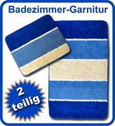 Badgarnitur Blau