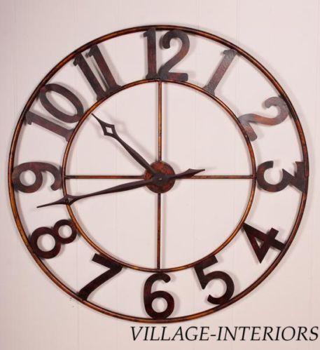 30 Quot Wall Clock Ebay