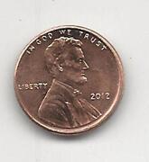 2012 Penny Error