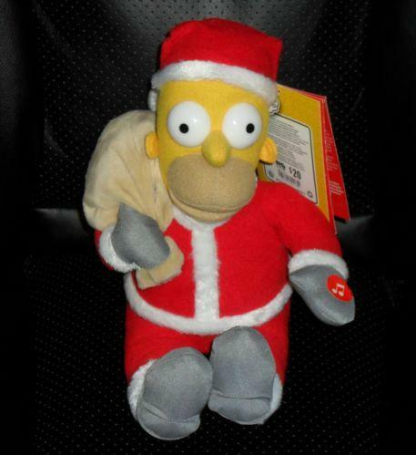 Homer Simpson Santa Ebay