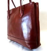 Handtaschen, Braun, Echt Leder