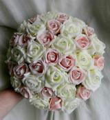 Bridesmaid Posy Pink