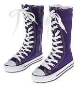 Purple High Top Sneakers