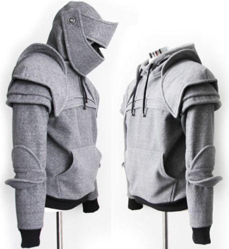 84c4814a Armored Knight Hoodie | eBay