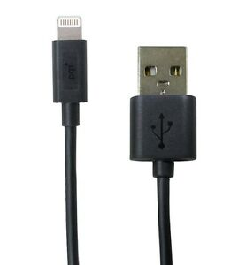 PQI-i-Cable-Lightning-100-Black-Charging-Cable-for-Apple-iPhone-iPad-iPod-100cm