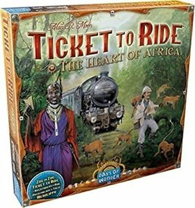 TICKET TO RIDE boardgame AFRICA version