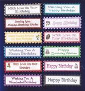 Happy Birthday Card Toppers