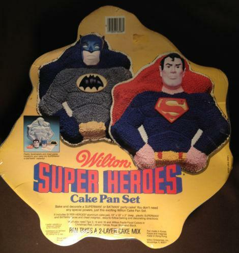 Wilton Superman Cake Pan Ebay