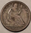 1862 Seated Liberty Dollar