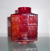 Whitefriars Ruby Glass