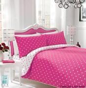 Pink Polka Dot Bedding