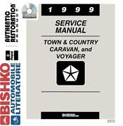 Chrysler Town and Country Service Manual