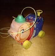 Vintage Fisher Price Wooden Toys