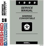 Chrysler Sebring Repair Manual