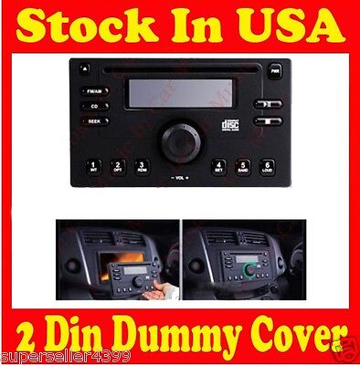 Dummy Detachable Panel 2 Din In Dash Car CD DVD Stereo Player on Rummage