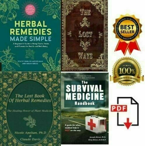 The Lost Ways The Lost Book of Remedies Herbal Medicine + 2 FREE 🔥 P.D.F 🔥 ✅