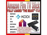 AMAZON FIRE STICK KODI & MODBRO 17.0 KRYPTON PULSE LOADED CHIPPED TV FILM SPORT KIDS