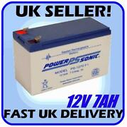 12 Volt 7 Amp Battery