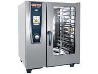 Rational SCC101E 10 grid combi oven