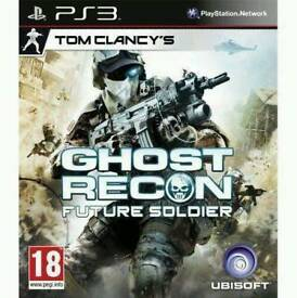Ghost Recon Future Soldier Not Sealed