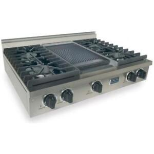## 5 STAR COMMERCIAL STOVE TOP WITH GRIDDLE ##