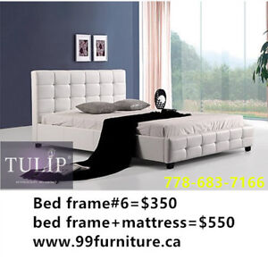 █♣█TULIP BRAND NEW~LUX MODERN BED+PILLOWTOP MATTRESS PACKAGE 2pc