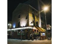 Experienced Chef De Partie required for The Garrick Bar