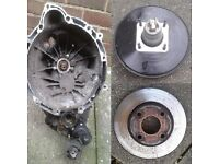 SWAP a LOT of MK6 Ford Fiesta parts inc gearbox for a small trailer