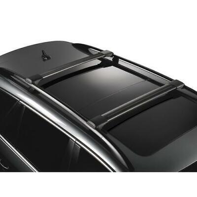 BARRE PORTATUTTO Volvo XC90 - railing, anno 07/15> YAKIMA RAIL BAR BLACK