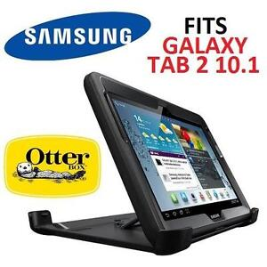 NEW OB OTTERBOX DEFENDER CASE FITS SAMSUNG GALAXY TAB 2 10.1 - BLACK - TABLET CASE - NEW OPEN BOX PRODUCT 97013201