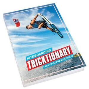 TRICKTIONARY / KITEBOARDING BOOK / NEW