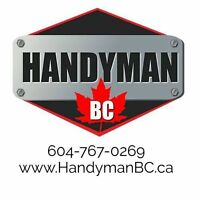 Professional Handyman Services For all your home repair needs