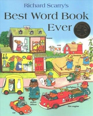 Richard Scarry's Best Word Book Ever, Paperback by Scarry, Richard, ISBN-13 (Best English Words Ever)