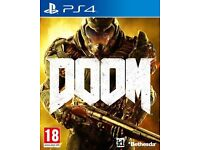 Doom PS4 Game Wanted