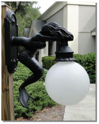 Antique Outdoor Light Ebay